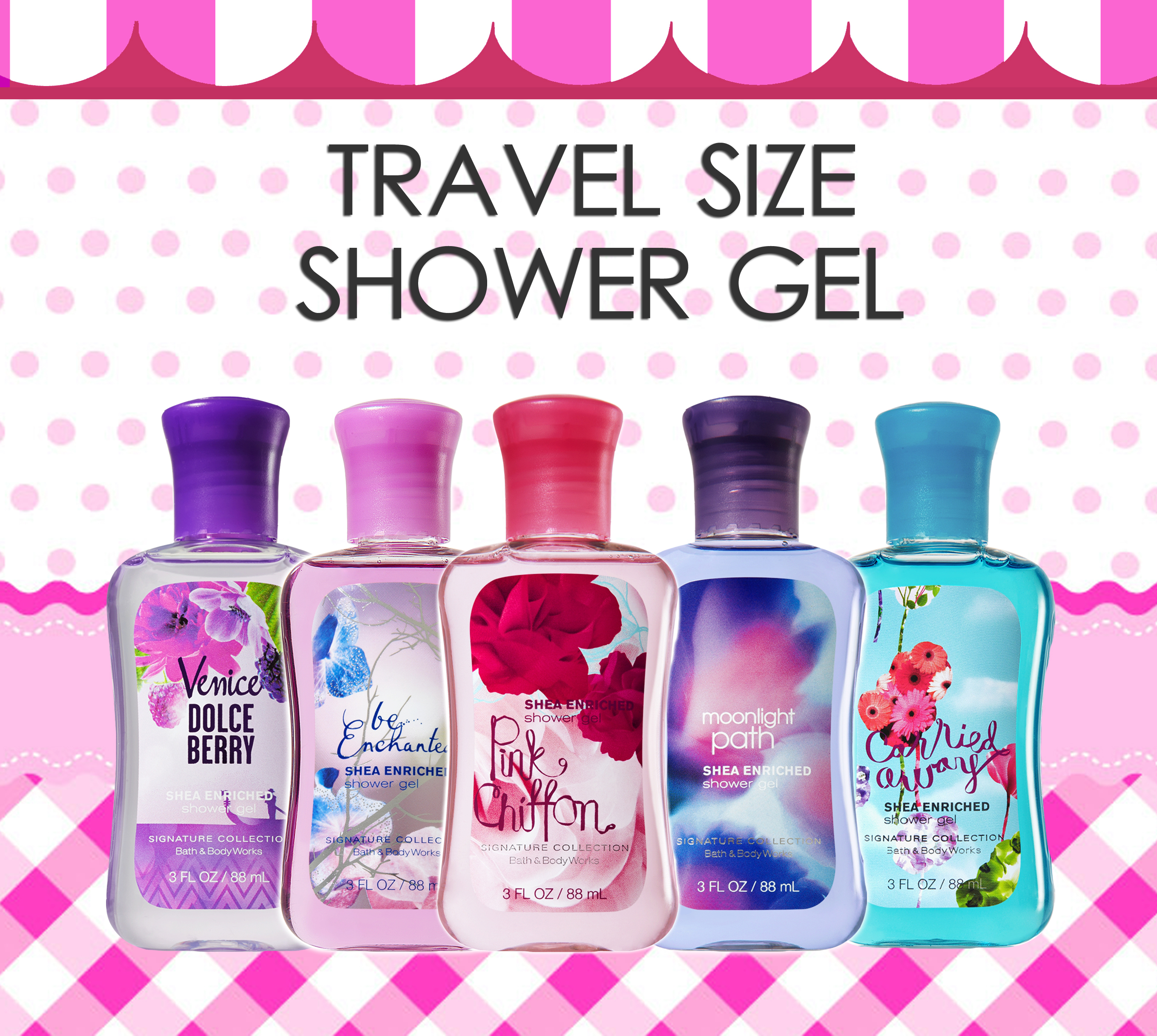 Shower Gel - Travel Size