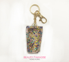 PocketBac Holder - Heart Confetti (blue)