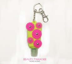 PocketBac Holder - Yellow & Pink Flower