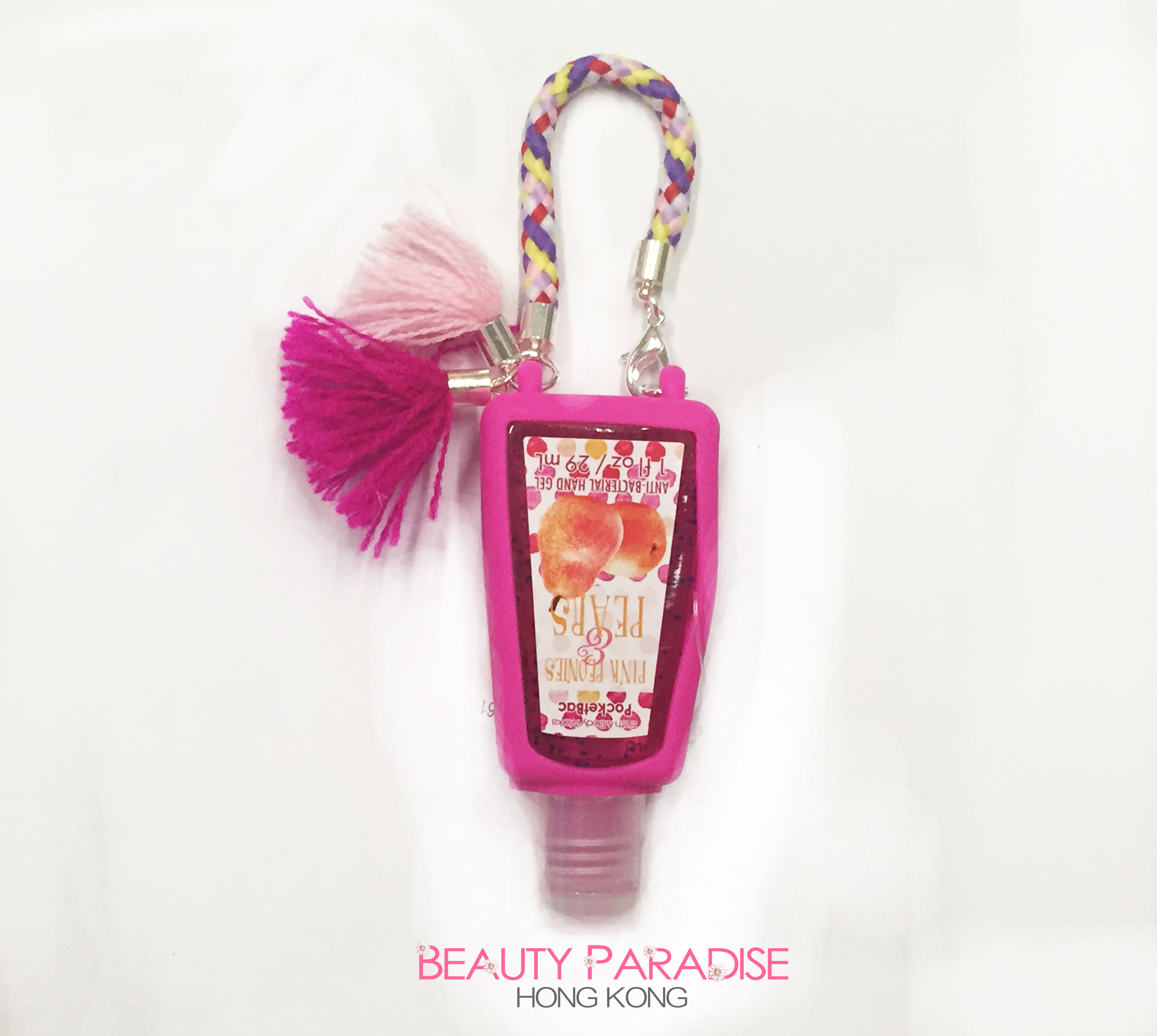 PocketBac Holder - Pink Tassels
