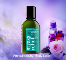 Aromatherapy - Body Lotion(Travel Size) - Stress Relief - Eucalyptus Spearmint /59ml