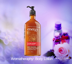 Aromatherapy - Body Lotion - Energy - Orange Ginger /192ml